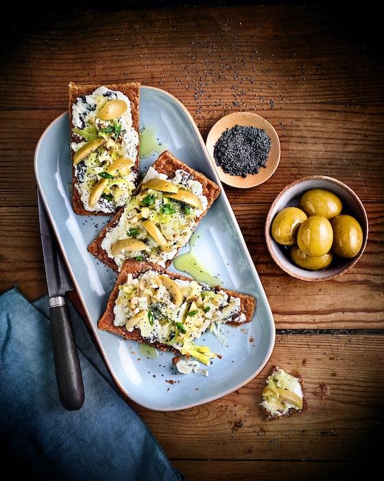recette de Feuilletés minute aux olives
