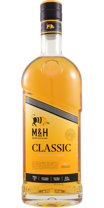 Milk & Honey Classic whisky israélien