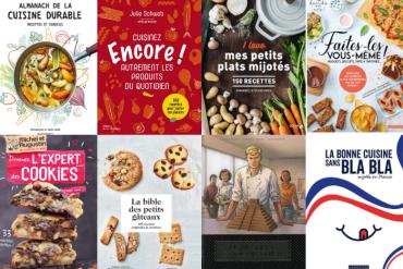 Les livres de cuisine de mars 2020