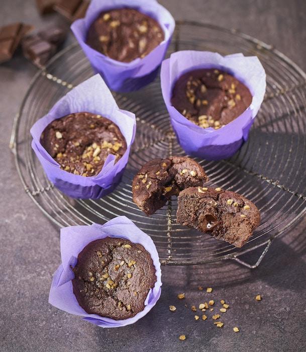 recette de Moelleux au chocolat healthy