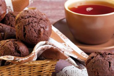 Muffins à la Nocciolata sans lait