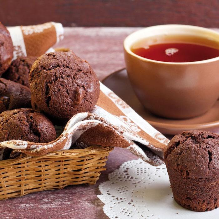 recette de Muffins à la Nocciolata sans lait