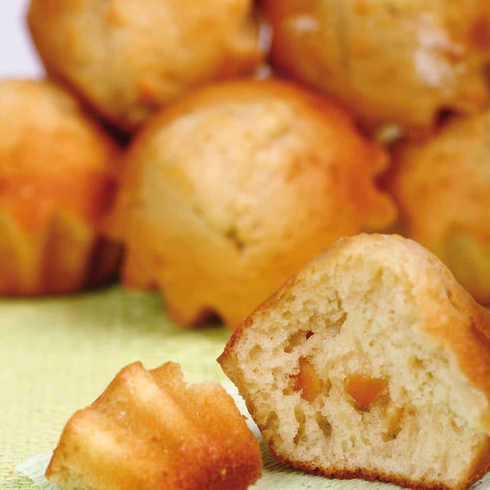 recette de Muffins au miel d'oranger