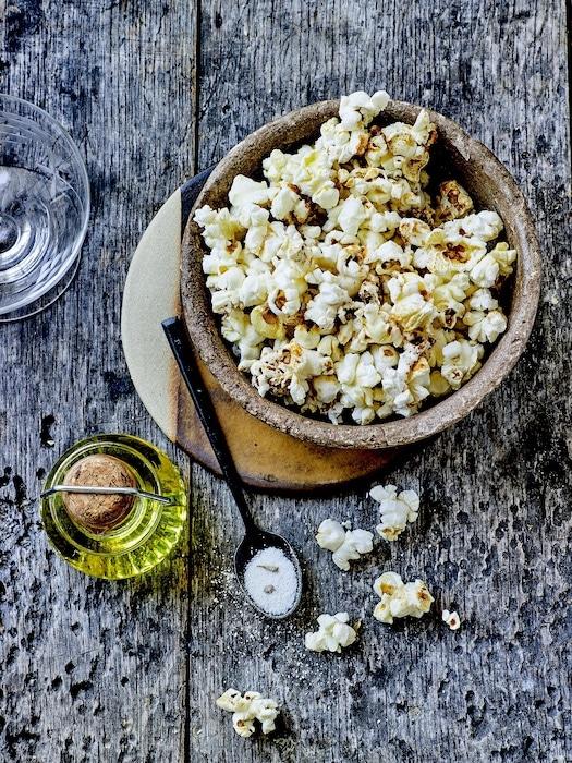 recette de Pop corn à la truffe