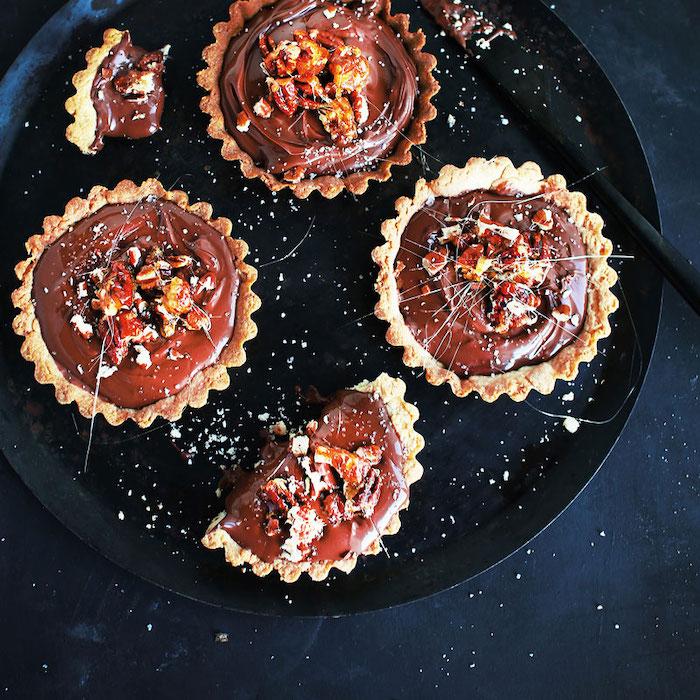 recette de Tartelettes sablées à la Nocciolata