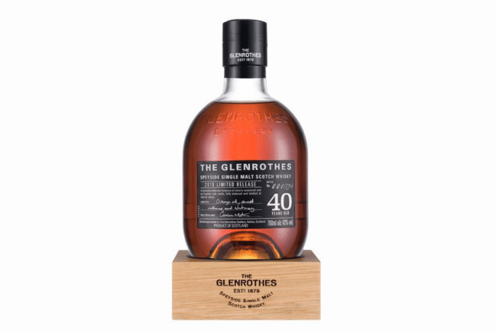 The Glenrothes 40 ans d'âge