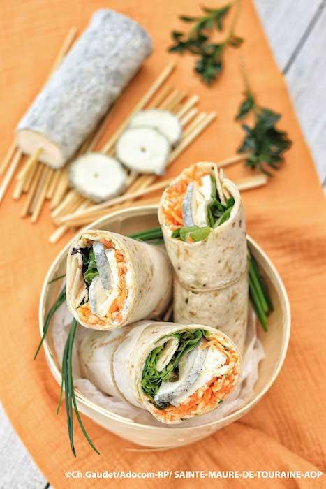 recette de Wraps aux légumes