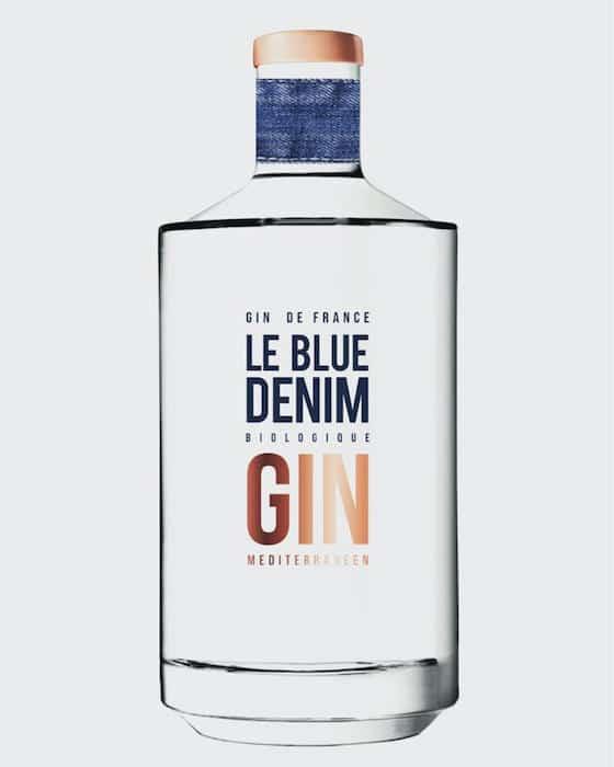 Le Blue Denim gin bio méditerranéen