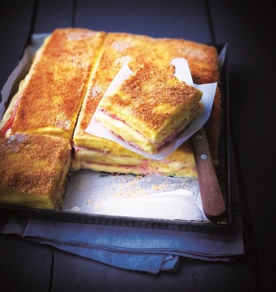 recette de Croque-monsieur de polenta