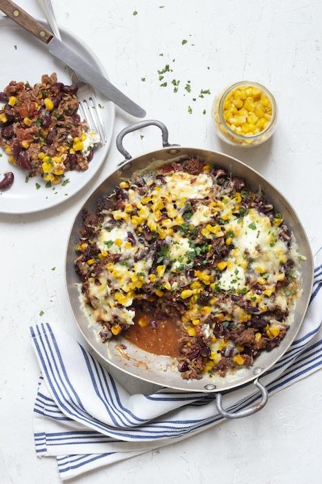 recette de Gratin à la mexicaine au maïs
