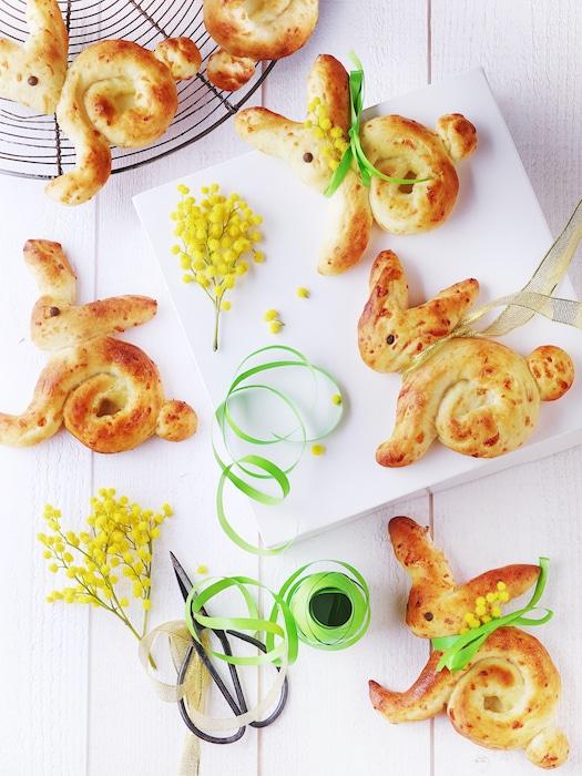 recette de Lapins briochés au fromage