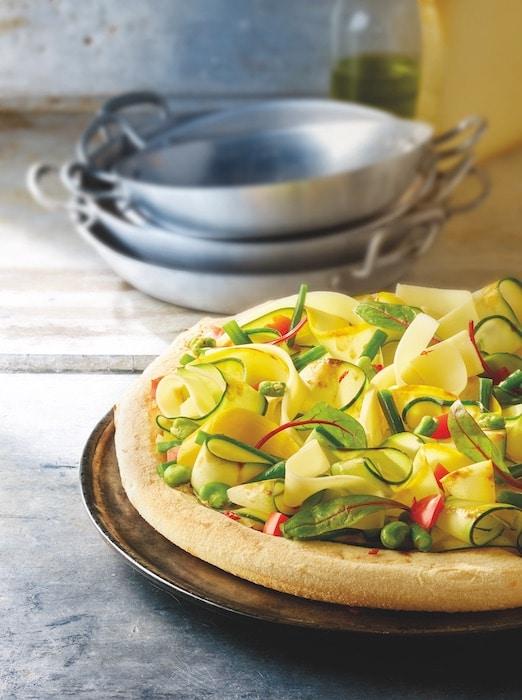 recette de Pizza d'été au Beaufort