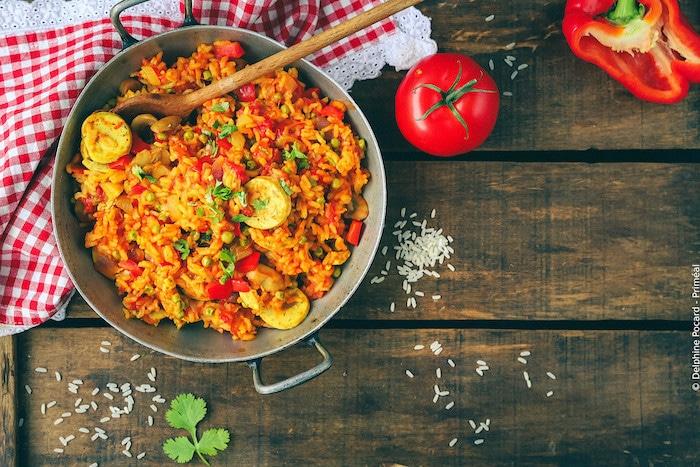 recette de Paella veggie