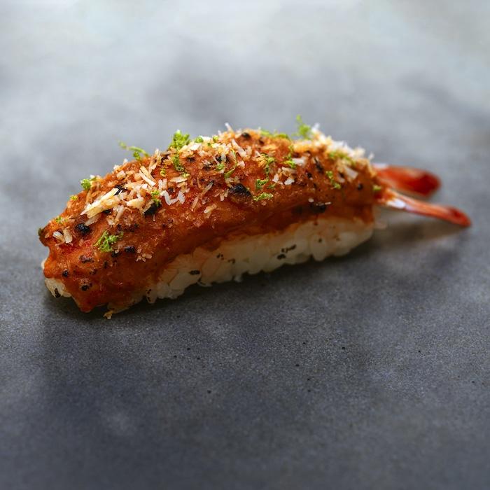 recette de Sushi Satay de Grégory Marchand