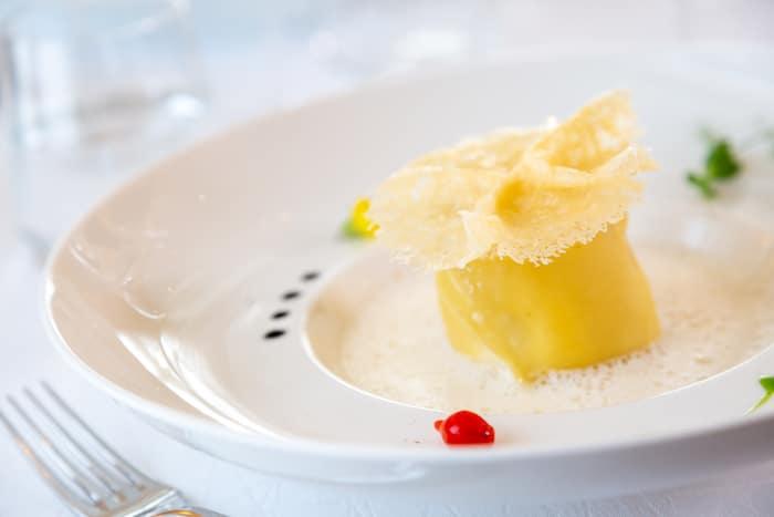recette de Tagliatelles de Crottin au beurre de muscade