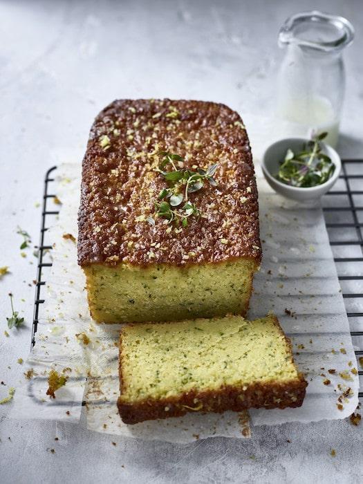 recette de Cake sans gluten de courgette