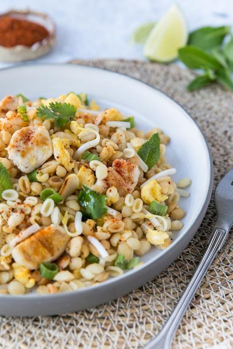 recette de Pad Thaï de coeur de blé