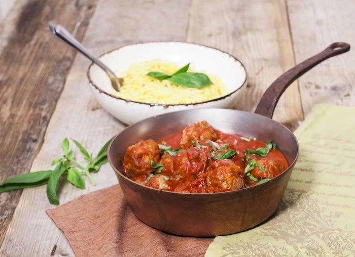 recette de Polpette d'agneau à la sauce tomate