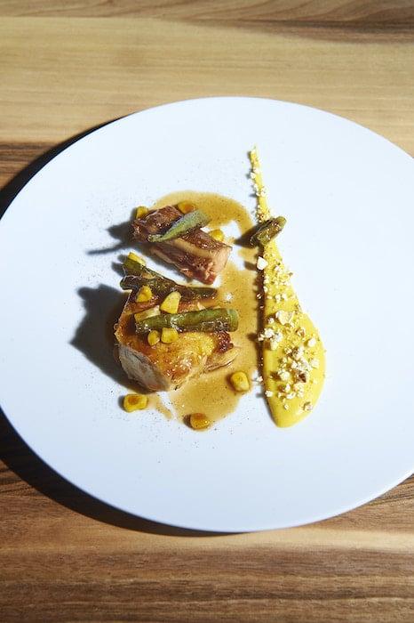 recette de Poulet jaune à la crème de maïs