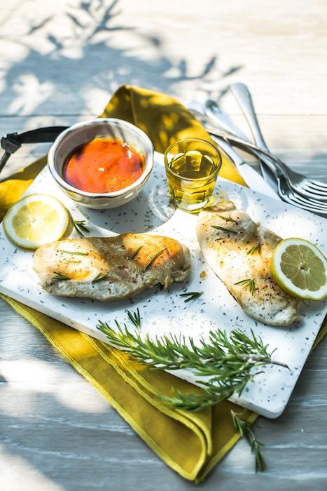 recette Escalopes de poulet marinées au citron
