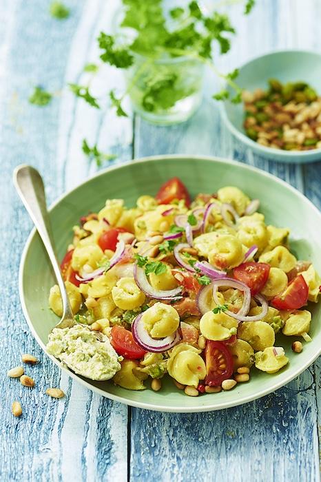 recette de Salade de Collerettes au fromage frais