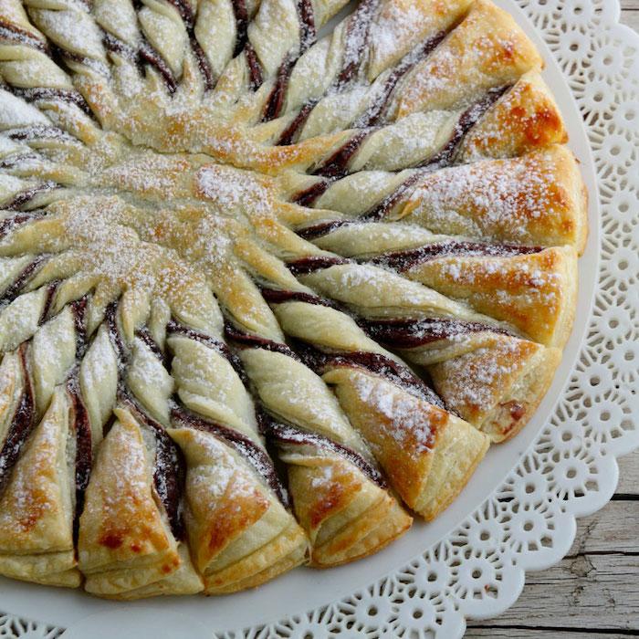 recette de Tarte soleil à la Nocciolata
