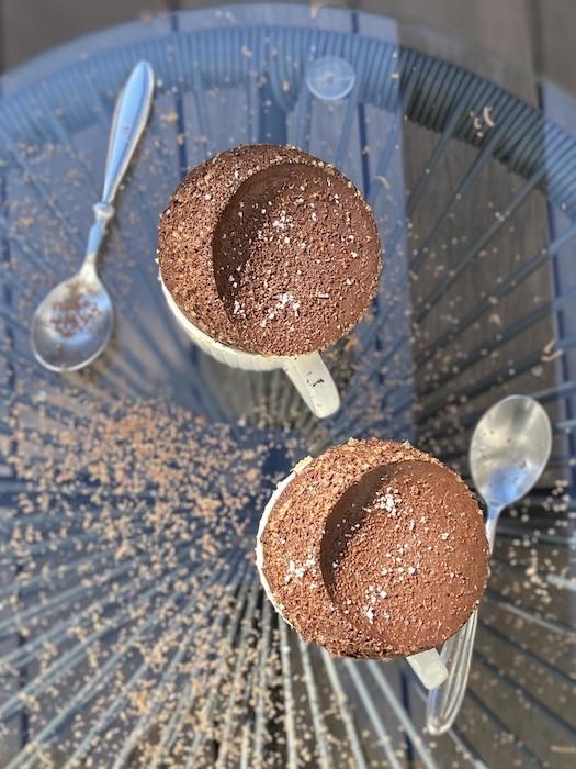 recette de soufflés au chocolat de François Perret