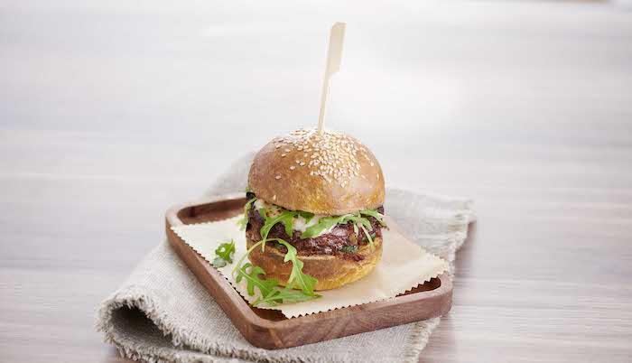 recette de Burgers veggies aux courgettes grillées