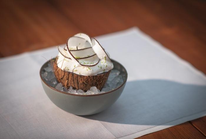recette de La noix de coco givrée