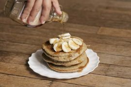 Les pancakes de Back in Black Coffee