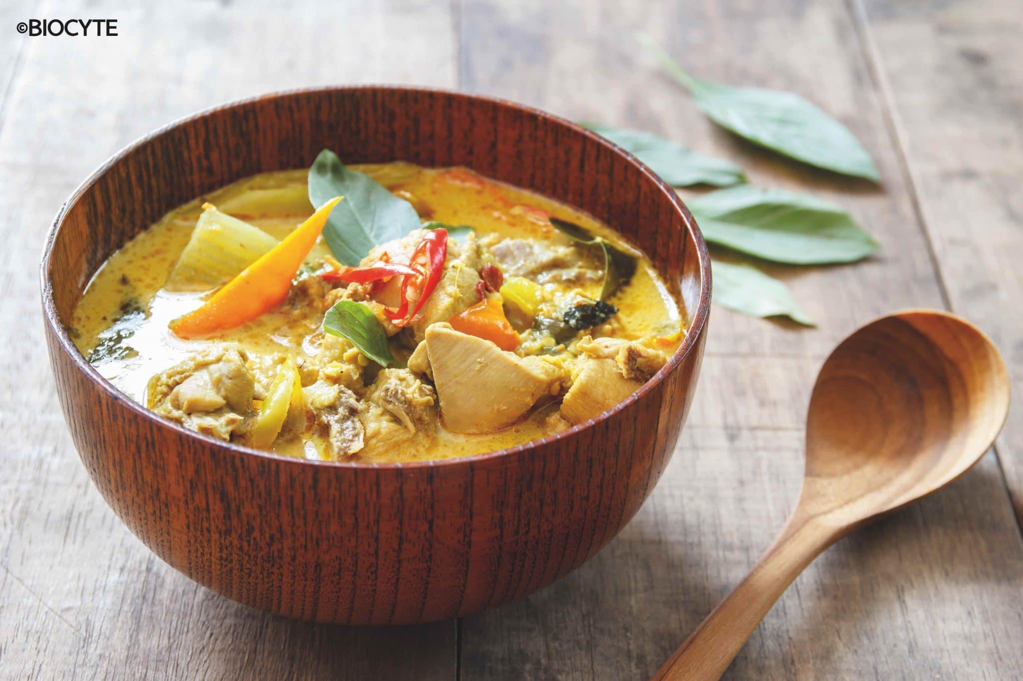 recette de Poulet au curry
