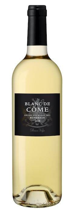 Blanc de Côme 2018 vin blanc du Médoc