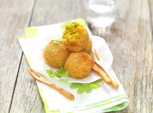recette de Boulettes de petits pois carottes