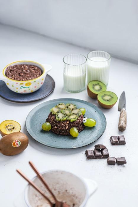 recette du kiwi bowl cake
