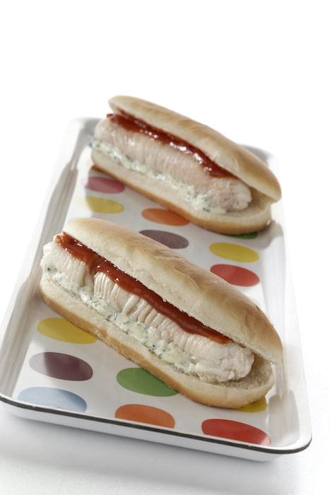 recette de Hot dog de raie