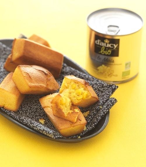 recette de Petits pains de maïs