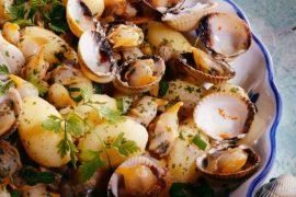 Poêlée de coques aux pommes de terre