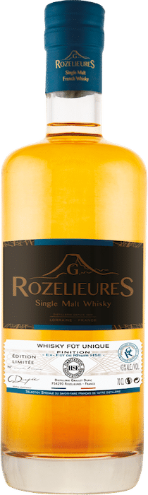 Single Malt Whisky Rozelieures Fût unique HSE
