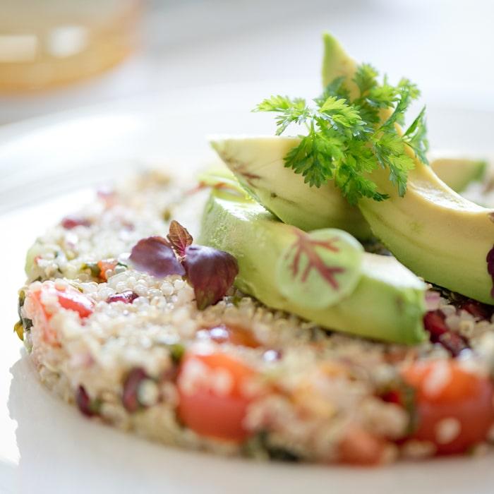 recette de Taboulé de quinoa à la sauce chimichurri