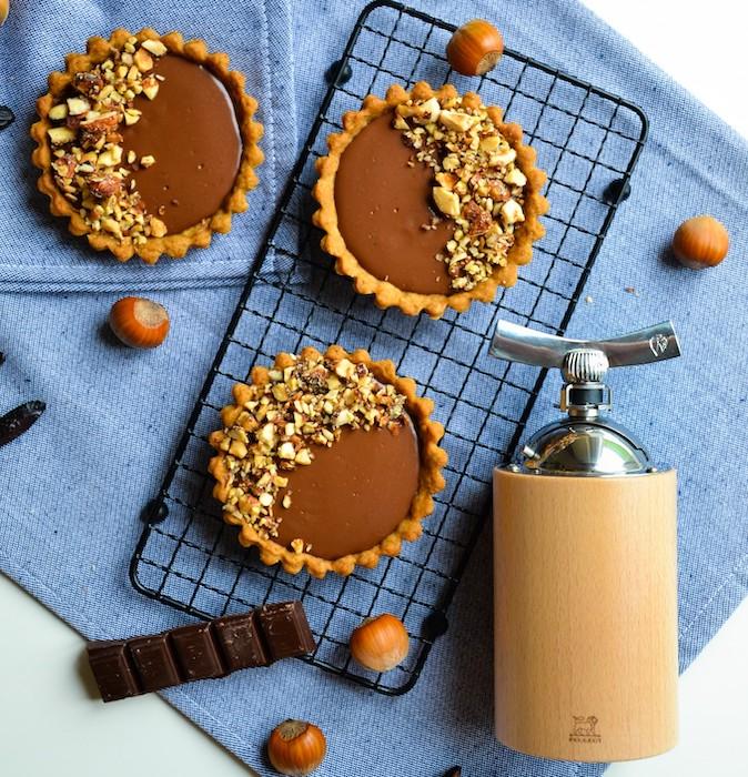 recette de Tartelettes chocolat et fève de tonka