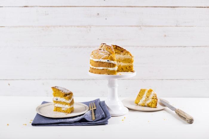 recette de Carrot cake aérien