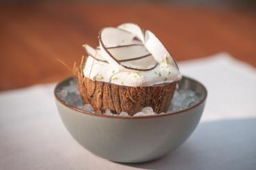 La noix de coco givrée