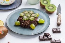 Le kiwi bowl cake