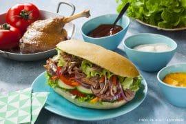recette de Kebab au confit de canard