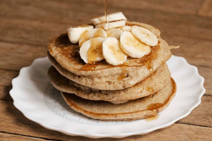 recette pancakes de Back in Black Coffee