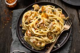 Spaghettoni au chou-fleur