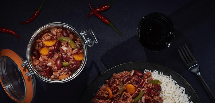 recette de Chili con carne en conserve