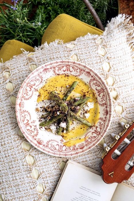 recette d'asperges de Julien Sebbag