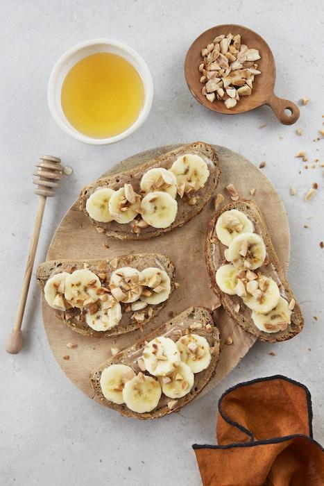 recette de Banana Toasts