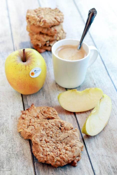 recette de Cookies aux pommes et au gingembre